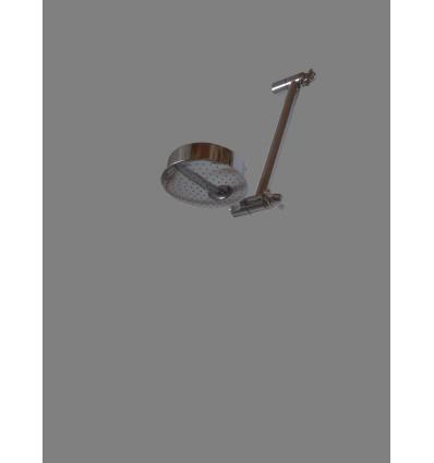 image: rociador articulado laton cromado