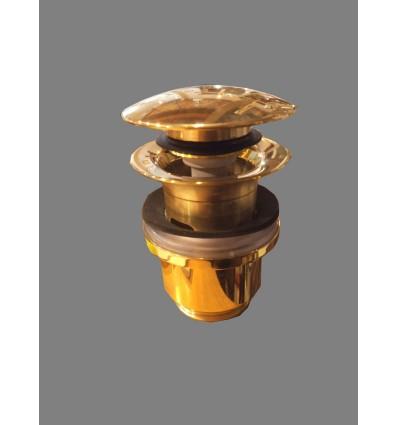 Valvula click clack acabados laton bronce cormo for Valvula lavabo click clack
