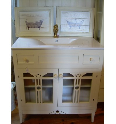 Mueble lira con lavabo porcelana integral for Muebles lira coslada madrid